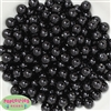 10mm Black Faux Pearl Beads