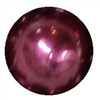 10mm Burgundy Faux Pearl Beads sold individually