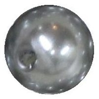 10mm Gray Faux Pearl Beads sold individually
