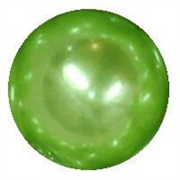 10mm Lime Green Faux Pearl Beads sold individually