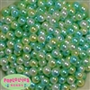 10mm Ocean Tone Ombre Faux Pearl Beads sold in packages of 50 beads