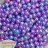 10mm Jewel Tone Ombre Faux Pearl Beads sold in packages of 50 beads
