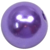 10mm Purple Faux Pearl Beads sold individually
