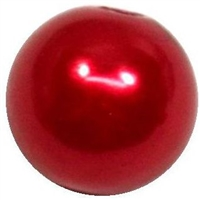 10mm Red Faux Pearl Beads sold individually