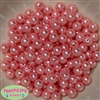 10mm Shell Pink Faux Pearl Beads sold in packages of 50 beads