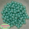 10mm Turquoise Faux Pearl Beads