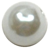 10mm White Faux Pearl Beads sold individually