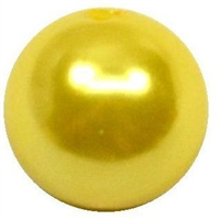 10mm Yellow Pearl Bead