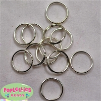 10mm Split Rings for Jewelry 20pc