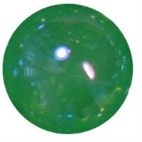 12mm Acrylic Emerald Green bubble Bead