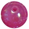 12mm Acrylic Hot Pink bubble Bead