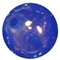 12mm Acrylic Royal blue bubble Bead