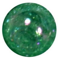 12mm Acrylic Emerald Green Crackle Bubblegum Beads sold by the bead