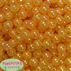 12mm Gold Crackle Bubblegum Beads sold in packages of 50 beads