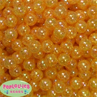 12mm Gold Crackle Beads