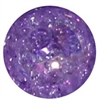 12mm Purple Crackle Beads sold individually