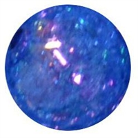 12mm Acrylic Royal Blue Crackle Bubblegum Beads sold by the bead