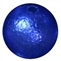 12mm Royal Blue Crinkle Pearl Bubblegum Bead