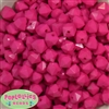 12mm Hot Pink Acrylic Cube Bubblegum Beads