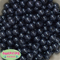 12mm Black Miracle Beads