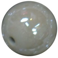 12mm Gray AB Finish Miracle Acrylic Bubblegum Bead