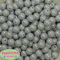 12mm Gray Miracle Beads