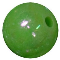 12mm Lime AB Finish Miracle Acrylic Bubblegum Beads