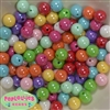 12mm Mixed Colors of Miracle Gumball Beads sold in packages of 100 beads
