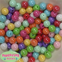 12mm Mixed Colors of Miracle Beads 100pc