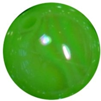 12mm Neon Lime AB Finish Miracle Acrylic Bubblegum Beads
