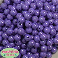 12mm Purple AB Finish Miracle Acrylic Bubblegum Beads