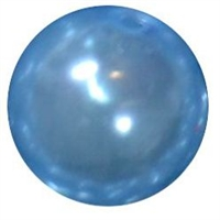12mm Baby Blue Faux Pearl Bead