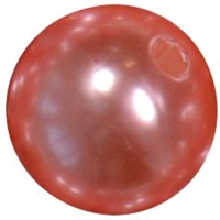 12mm Coral Faux Pearl Bead