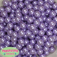 12mm Lavender Faux Pearl Beads sold in packages of 50 beads