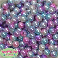 12mm Bulk Jewel Multi Acrylic Faux Pearls
