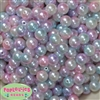 12mm Mermaid Tone Multi Color Ombre Faux Pearl Acrylic Beads