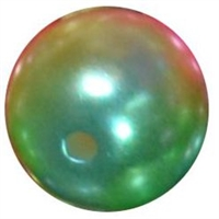 12mm Rainbow Ombre Faux Pearl Bead