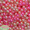 12mm Bulk Spring Multi Acrylic Faux Pearls
