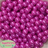 12mm Bulk Rose Pink Acrylic Faux Pearls