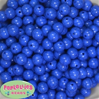 12mm solid Royal acrylic Crackle Bead