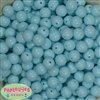 12mm Arctic Blue Acrylic Bubblegum Beads