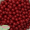 12mm Burgundy  Acrylic Bubblegum Beads