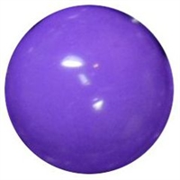 12mm Lavender Acrylic Bubblegum Beads
