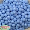 12mm Periwinkle Blue Acrylic Bubblegum Beads