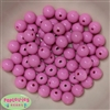 12mm Pink Acrylic Bubblegum Beads