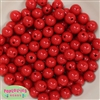 12mm Red Acrylic Bubblegum Beads Bulk