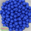 12mm Royal Blue Acrylic Bubblegum Beads