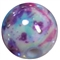 12mm Jewel Splattered AB Finish Miracle Acrylic Bubblegum Bead