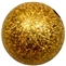 12mm Gold Stardust Bead