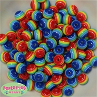 12mm Rainbow Beads 40 pc
